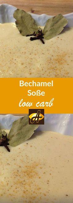 Rezept Bechamel lowcarb glutenfrei: DIE ultimative Bechamel in lowcarb UND glutenfrei - super schmackhaft - passt zu Lasagne, Gemüse und und und