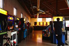 $.25 a game, all your favorite older arcade games. Eighty Two Arcade & Bar in Los Angeles, CA