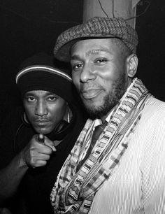 Q-tip & Yasiin Bey. Rap Music, Soul Music, Brooklyn, Mos Def, Hip Hop And R&b, Hip Hop Artists, My Escape, Reggae, Old School