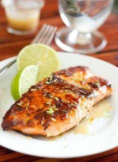 Low FODMAP Recipe and Gluten Free Recipe - Grilled salmon with chili & lime  http://www.ibssano.com/low_fodmap_recipe_grilled_slamon_chili_lime.html