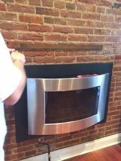 Harper and Towson: Stacked Mantel