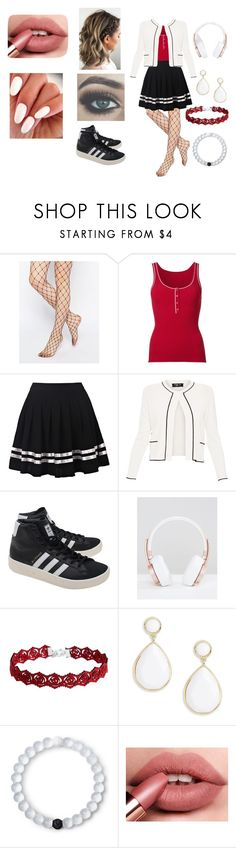 """Untitled #1"" by raspberry-girly ❤ liked on Polyvore featuring Gipsy, Misha Nonoo, Paule Ka, adidas Originals, Urbanista, Trina Turk and Lokai"