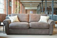 Stunning sofa in the softest leather from www.meyerandmarsh.co.uk