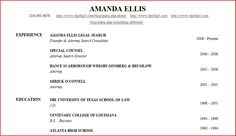Example Of College Student Resumes College Admission