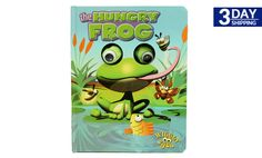 Get 54% #discount on Wiggly Eyes - The Hungry Frog Book #kids #onlinedeals