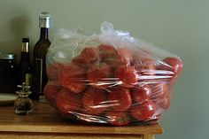 three ways to freeze tomatoes