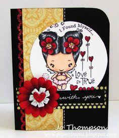 Lovey Bean/Jo Thompson http://paperdrama.blogspot.com/2013/01/dtt-sketch.html