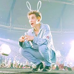 Suho or as I call him bunnymyeon
