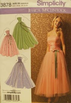 I love sewing. If I could find this, I'd make me one of these dresses for no reason.