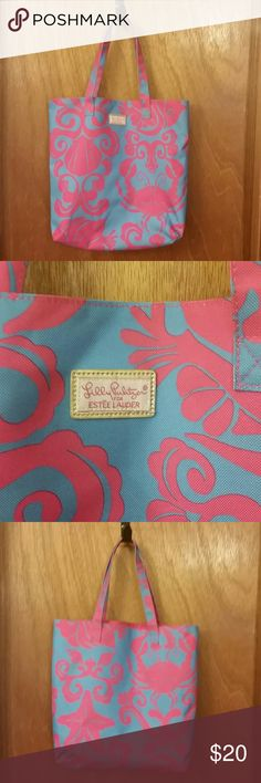 Lily Pulitzer tote bag Gently used Lilly Pulitzer Bags Totes