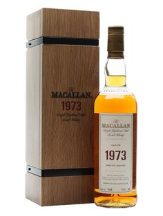 Macallan 1973 - 30 Year Old - Fine & Rare Scotch Whisky : The Whisky Exchange
