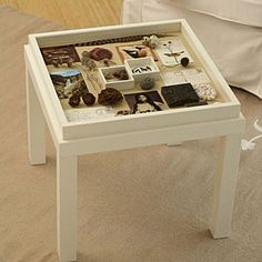 Reinvent your stuff: 21 fun DIY projects | Make a memory box table | Sunset.com