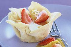 Ricotta Fruit Tarts Recipe