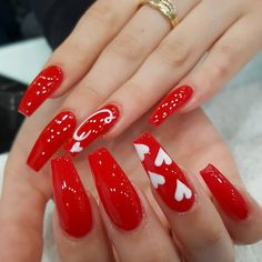 day nails gel almond 28 Oddly Satisfying Valentine's Day Nails for - day nails gel almond 28 Oddly Satisfying Valentine's Day Nails for 2020 – FavNailAr - Red Acrylic Nails, Red Nails, Valentine's Day Nail Designs, Valentine Nail Art, Nails For Valentines Day, Nagel Blog, Dope Nails, Fancy Nails, Gorgeous Nails