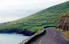 The Dingle peninsula, my favorite place in Ireland. I so want to return.