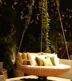 Schaukel im Garten Outdoor Furniture, Outdoor Decor, Inspiration, Bed, Home Decor, Lawn And Garden, Biblical Inspiration, Decoration Home, Stream Bed