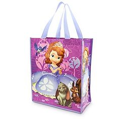 Disney Sofia Reusable Tote | Disney StoreSofia Reusable Tote - Carry all your aspirations along in Sofia's reusable tote. Clover, Whatnaught, and Mia join the future princess on this sturdy shopping bag made of 80% recycled plastic bottles to help every kingdom live happily ever after.