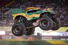Monster Jam returns THIS Saturday! Don't miss this action packed show! #MonsterJam