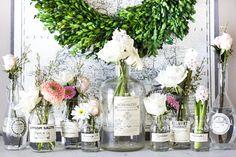 Spring Apothecary Jar Labels Printable + The Creative Corner DIY, Craft & Home Decor Link Party Jar Labels, Printable Labels, Party Printables, Free Printables, Diy Home Crafts, Decor Crafts, Wood Crafts, Apothecary Jars, Diy Hanging