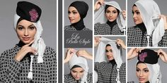 The First Leading Muslim Fashion Muslim Fashion, Hijab Fashion, Hijab Trends, Hijab Tutorial, 2014 Trends, Fashion Brand, How To Wear, Hat, Outfits