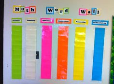 Math Brights   Community Post: 19 Word Walls That Will Blow Your Mind