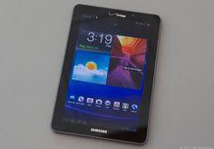 """Samsung Galaxy 7.7"""" tablet"""
