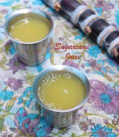 Sandhiya's Cookbook: Home made Sugarcane Juice Smoothie Prep, Juice Smoothie, Fun Drinks, Healthy Drinks, Fat Flush Water, Sugarcane Juice, Homemade Smoothies, Clean Eating Snacks, Kulfi