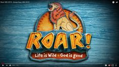 ROAR is the all-new VBS from Group for 2019! Watch the video overview here!