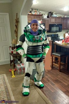 Are Adult buzz costume lightyear
