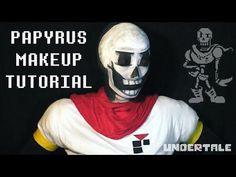 Papyrus (UNDERTALE) - Makeup Tutorial - YouTube