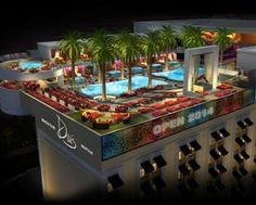 Drais Las Vegas nightclub and beach Club at the Cromwell