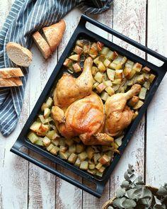 {RECETA} . P O L L O A S A D O E N M A R I P O S A . Seguro que muchos de vosotros sois de ir los domingos a buscar un pollo a l'ast…