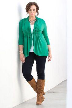 Plus Size Sunset Stroll Bellini - Green Shop www.curvaliciousclothes.com #plussize #plussizefashion