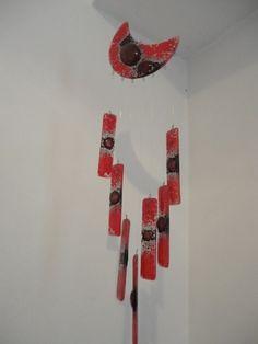 Llamador De Angeles - De Vitrofusion. Grueso. -