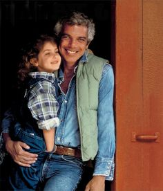 Ralph and his daughter Dylan