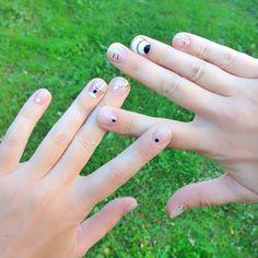 #nails #negativespace #minimalnails #suprematism #naildesign