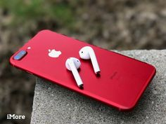 apple technology Products Cases is part of Apple Tech Accessories Best Buy - iPhone 7 Plus Product RED with airpods [iPhone 8 pricing How high can Apple go iMore] Iphone 8 Plus, New Iphone, Iphone Cases, Iphone Mobile, Iphone Phone, Leica, Samsung, Apple Earpods, Apple Iphone