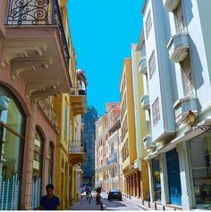 Psstel hues in Saifi Village, Beirut