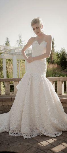 Sarah Houston Spring 2015 Bridal Collection | bellethemagazine.com
