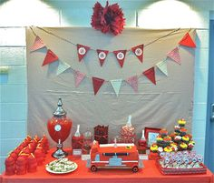 Plan Me A Party!: fire fighter party
