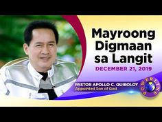 WATCH LIVE: POWERLINE by Pastor Apollo C. Quiboloy at Glory Mountain, Ta... Spiritual Enlightenment, Spirituality, Anti Christ, Davao, World Need, Son Of God, Apollo, Need To Know, Spotlight