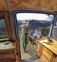 Wondering How To Prepare For A Camping Trip? Start Here! - Useful Camping Tips and Guide Van Conversion Interior, Camper Van Conversion Diy, Van Conversion Paneling, Van Conversion Kitchen, Diy Van Conversions, Sprinter Van Conversion, Bus Life, Camper Life, Campers