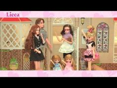 Licca-chan series shopping Center - YouTube