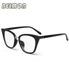 961a0572a7 Cat Eye Glasses Frame Women Computer Optical Spectacle Frame For