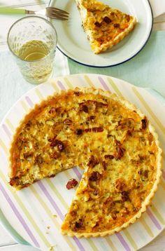 Lauch-Quiche - New Site Savory Pastry, Savoury Baking, Bread Baking, Quiches, Party Finger Foods, Vegan Pizza, Quiche Vegan, Pumpkin Spice Cupcakes, Quiche Recipes