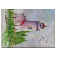 Shop Decorative Glass Cutting Board - Lighthouse created by libertydogmerch. Walnut Bedroom Furniture, Kitchen Furniture, Rustic Furniture, Luxury Furniture, Urban Furniture, Upcycled Furniture, Cheap Furniture, Discount Furniture, Furniture Outlet