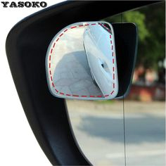 Original 360 Bằng Điều Chỉnh không khung siêu mỏng Góc Rộng Blind Spot gương cho bãi đậu xe Phụ Trợ rear view mirrors