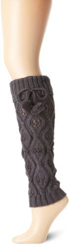 Betsey Johnson Women's Cozy Cable Lurex Leg Warmer - Listing price: $30.00 Now: $6.00 + Free Shipping