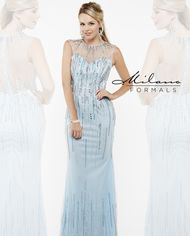 Milano Formals E1908 - Long Fitted Dress