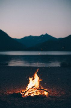 evening bonfires #camping